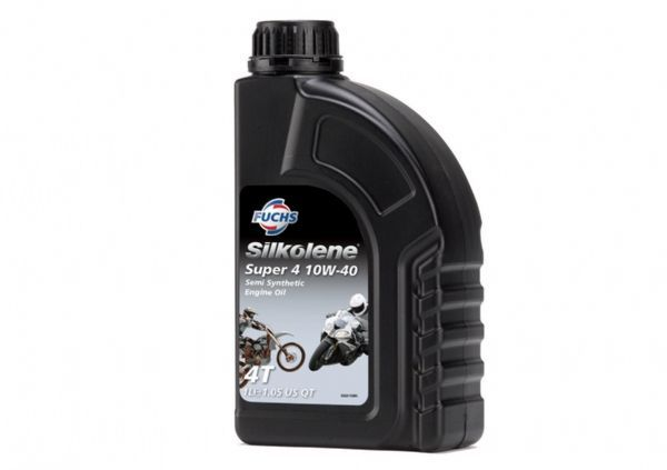 Silkolene Super 4 10w/40 Semi-Synthetic Oil